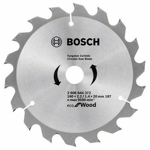 Пильный диск по дереву BOSCH Eco for Wood D230 d30 z24