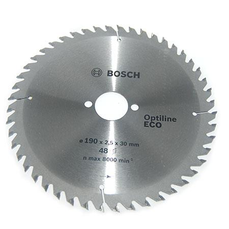Пильный диск по дереву BOSCH Optiline ECO D305 d30 z40