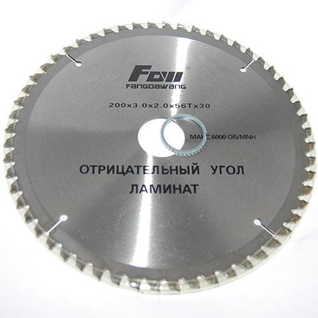 Пильный диск по ламинату с отр. углом FOLL D200 d32 z56 3×2