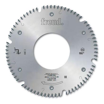 """Твердосплавная дисковая пила для измельчителей Leuco """"левое вращение"""" D250 d100 z72 (LT20MS BB3)"""