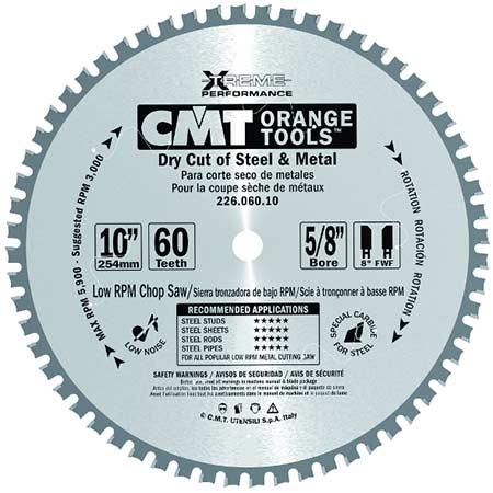 Пильный диск СМТ для сухого реза стали D165 d20 z36 (226.036.06H)
