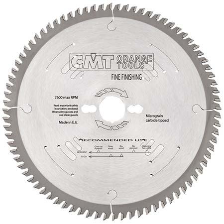 Пильный диск СМТ для чистового поперечного реза D300 d30 z100 (274.100.12M)
