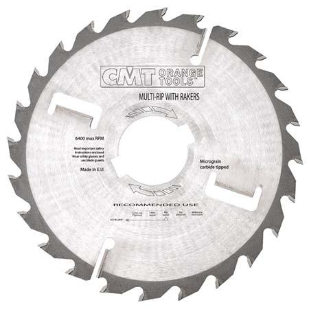 Диск СМТ тонкий для многопила продольного пиления с подрезными ножами D250 d80 z20+4 (280.020.10W)