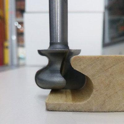 Фреза Vatzo под мебельные ручки d8 D38.1 h20.7 (08-130-381) для 19мм МДФ