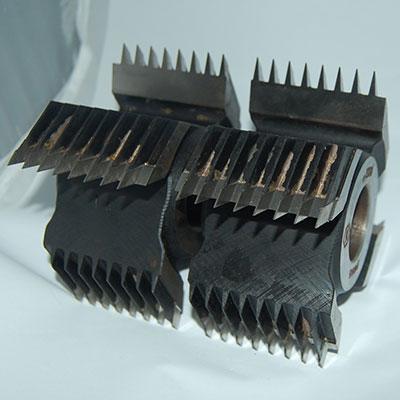 Комплект из 2-х фрез для сращивания (шип-глубокий шаг 3.8 мм) D125 d40 B122