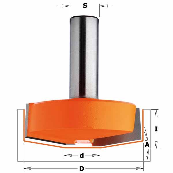 Фреза СМТ профильная псевдофилёнка d12 D50 h17 O10 (970.502.11)