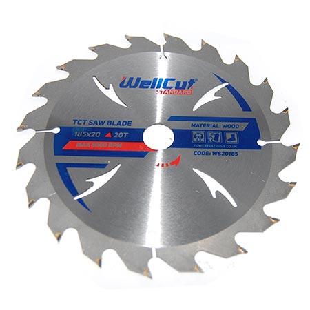 Пильный диск по дереву WellCut D150 d22 z24