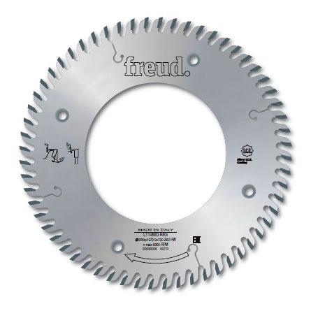 """Твердосплавная дисковая пила для измельчителей freud """"правое вращение"""" D250 d130 z60 (LT12MD BB3)"""