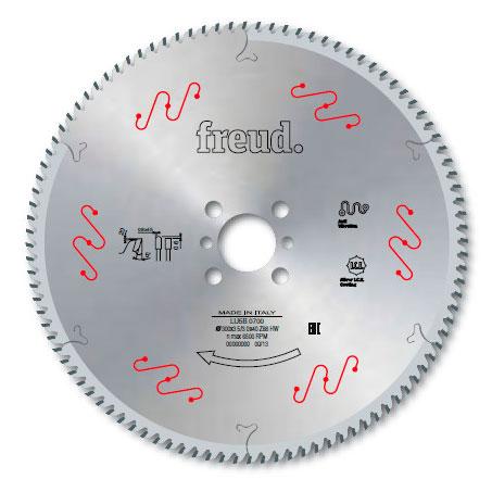 Диск Freud для цветных металлов D380 d32 z112 (LU5B 2100)