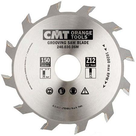 Пазовый пильный диск CMT D180 d30 z18 (240.050.07M)