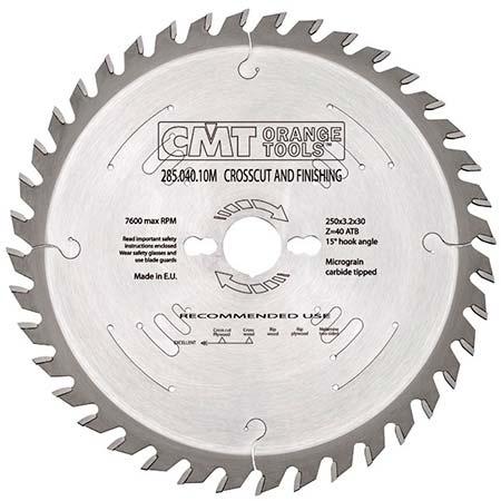 Пильный диск СМТ по дереву универсальный D250 d30 z60 (285.060.10M)