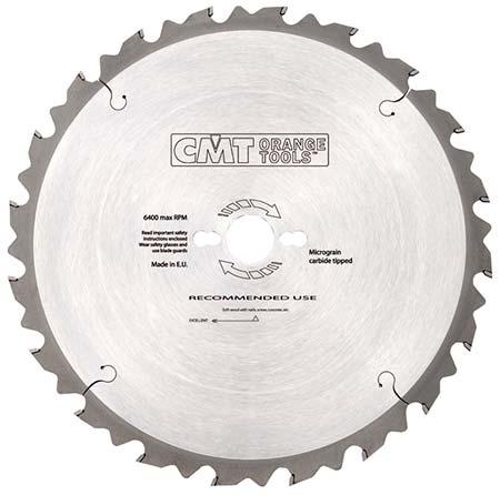 Пильный диск СМТ по дереву для строителей D400 d30 z28 (286.028.16M)