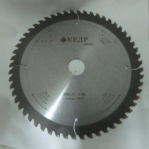 Каленый пильный диск по дереву Кедр Люкс D450 d50 z52