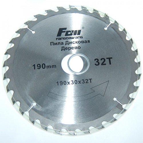 Пильный диск по дереву FOLL D180 d32 z36