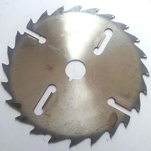 Пильный диск с подрезными ножами ИК Петровский D315 d50 z24+4