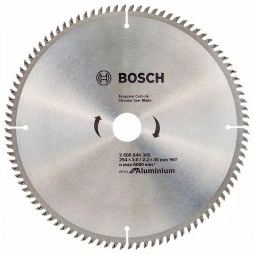 Пильный диск BOSCH Eco for Aluminium D254 d30 z96