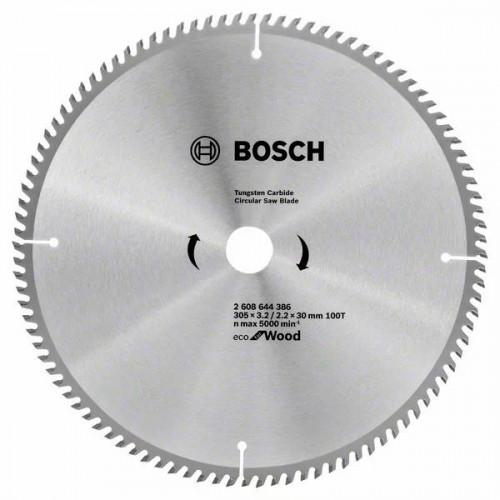 Пильный диск по дереву BOSCH Eco for Wood D305 d30 z100
