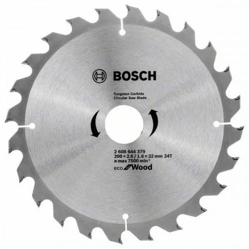 Пильный диск по дереву BOSCH Eco for Wood D200 d32 z24