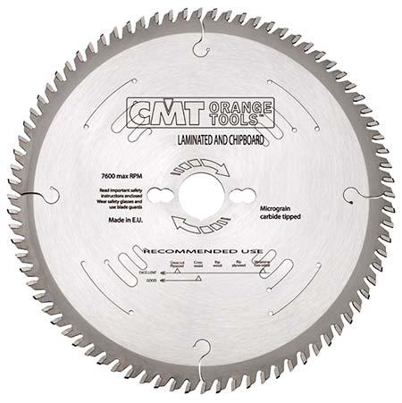 Пильний диск СМТ для ламінату і ДСП D300 d30 z72 (281.073.12M)
