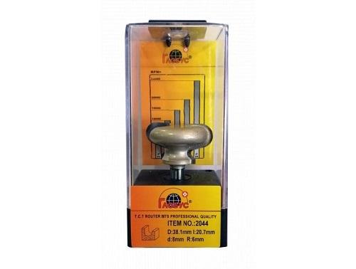 Фреза ГЛОБУС 2044 под мебельные ручки d8 D38.1 h20.7 для 19мм МДФ
